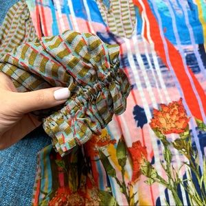Anthropologie Tops - Anthro Conditions Apply Retro Peasant Blouse
